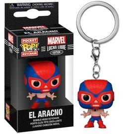 Funko Funko Pocket Pop! Keychain - Marvel Lucha Libre Edition - El Arachno