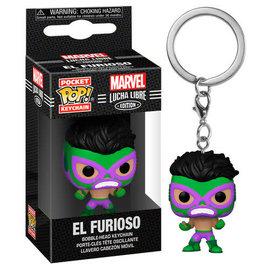 Funko Funko Pocket Pop! Keychain - Marvel Lucha Libre Edition - El Furioso