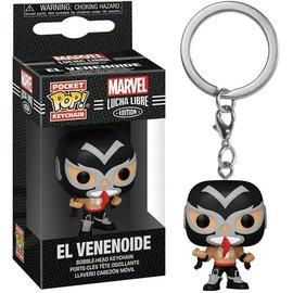 Funko Funko Pocket Pop! Keychain - Marvel Lucha Libre Edition - El Venenoide