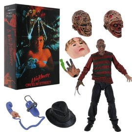 NECA Figurine - A Nightmare on Elm Street - Freddy Krueger Articulated with Interchangeable Parts 7""