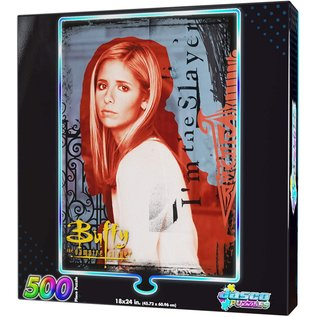 Jasco Puzzles Casse-tête - Buffy the Vampire Slayer - I'm The Slayer Holographique 500 Pièces