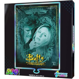 Jasco Puzzles Casse-tête - Buffy the Vampire Slayer - Lover Holographique 500 Pièces