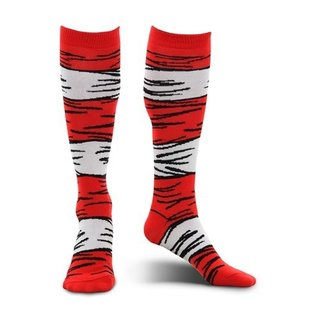 Bioworld Chaussettes - Dr. Seuss The Cat in the Hat - 1 Paire Crew