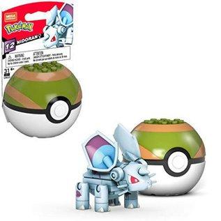 MEGA Brand Figurine - Pokémon - Mega Construx Nidoran ♀ avec Nest Ball Série 12