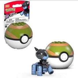 MEGA Brand Figurine - Pokémon - Mega Construx Deino avec Nest Ball Série 12