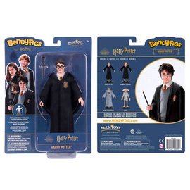 """Noble Collection Figurine - Harry Potter - Bendyfigs Harry Potter Série 1 7"""""""