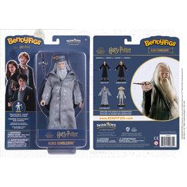 "Noble Collection Figurine - Harry Potter - Bendyfigs  Albus Dumbledore Série 1 7"""