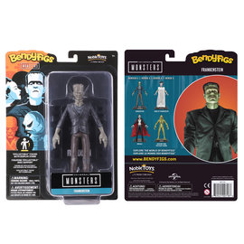 """Noble Collection Figurine - Universal Monsters - Bendyfigs Frankenstein Série 1 7"""""""