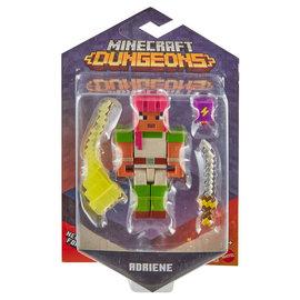 """Mattel Figurine - Minecraft Dungeons - Adriene Avec Sabre 3.25"""""""