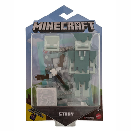 "Mattel Figurine - Minecraft - Stray 3.25"" Avec Application Comic Maker"