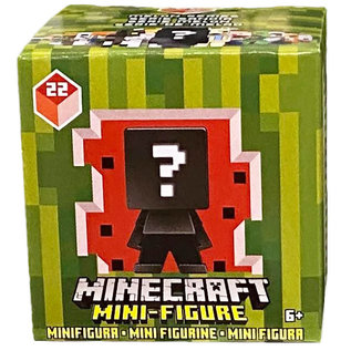 Mattel Boite Mystère - Minecraft - Mini-Figurine Série 22 Melon