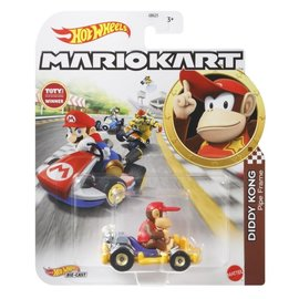 Mattel Jouet - Hot Wheels Disney Pixar - Character Cars Diddy Kong Pipe Frame