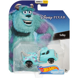 Mattel Jouet - Hot Wheels Disney Pixar - Character Cars Sulley