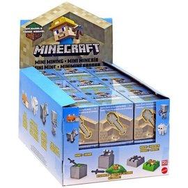 Mattel Boite Mystère - Minecraft - Mini Mining avec Figurine Sable à Mouler