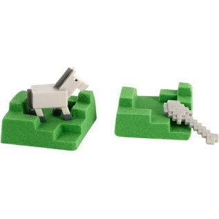 Mattel Boite Mystère - Minecraft - Mini Mining Sable à Mouler