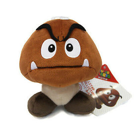 San-Ei Peluche - Nintendo Super Mario - Goomba  All Star Collection 6""