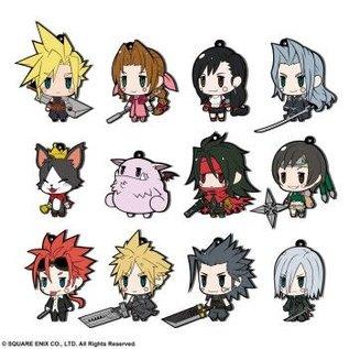 Ultra Tokyo Connection LLC. Boîte mystère - Final Fantasy VII - Attache pour Téléphone en Caoutchouc