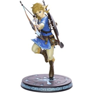 "Dark Horse Figurine - The Legend of Zelda Breath of the Wild - Link First 4 Figures Statuette PVC 10"""