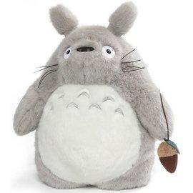 "Sun Arrow Backpack - Studio Ghibli My Neighbor Totoro - Totoro Grey Plush with Hazelnut 15.5 """