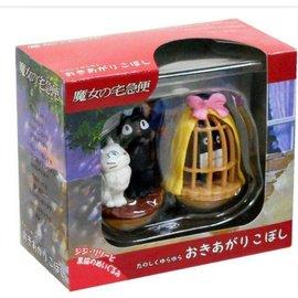 Ensky Studio Figurine - Studio Ghibli Kiki la Petite Sorcière - Jiji et Lily Ensemble de 2 Tumbler