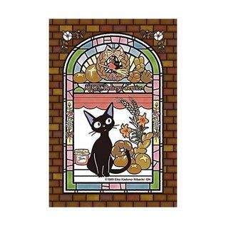 Ensky Studio Casse-tête - Studio Ghibli Kiki La Petite Sorcière - Art Crystal Vitrail Transparent 126 Pièces