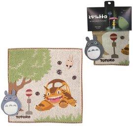 Marushin Serviette - Studio Ghibli Mon Voisin Totoro - Arrêt du Chat-bus