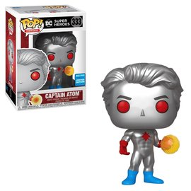 Funko Funko Pop! Heroes - DC Super Heroes - Captain Atom 333 *2020 Wondrous Convention Limited Edition Exclusive*