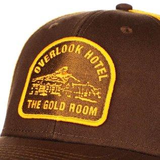 Bioworld Casquette - The Shining - Patch Overlook Hotel The Gold Room Brodée Brune et Orange Trucker Ajustable