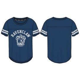 Bioworld Tee-Shirt - Harry Potter - Emblème de Serdaigle Coupe Athlétique Bleu