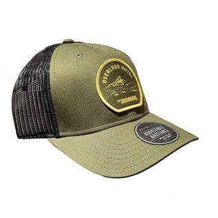 Bioworld Casquette - The Shining - Patch Overlook Hotel Brodée Trucker Ajustable Verte et Jaune