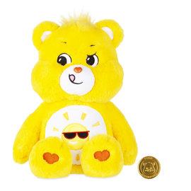 Basic Fun! Plush - Care Bears - Funshine Bear 14''
