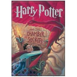 Ata-Boy Aimant - Harry Potter - Harry Potter et la Chambre des Secrets Couverture du 2ième Tome