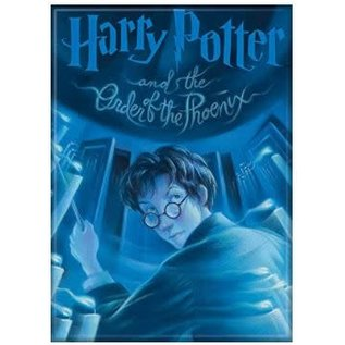 Ata-Boy Aimant - Harry Potter - Harry Potter et L'Ordre du Phoenix Couverture du 5ième Tome