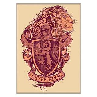 Ata-Boy Aimant - Harry Potter - Blason de Gryffondor avec Lion