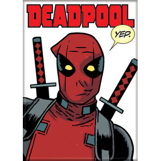 Ata-Boy Aimant - Marvel Deadpool - Effet Bande Dessinée Yep.