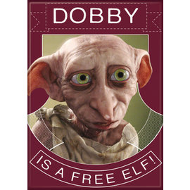 Ata-Boy Aimant - Harry Potter - Dobby is a Free Elf !