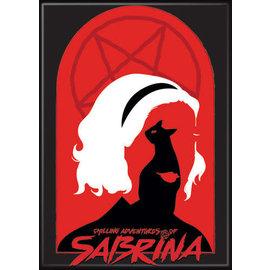 Ata-Boy Magnet - Chilling Adventures of Sabrina - Silouhette and Pentagram