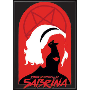 Ata-Boy Aimant - Chilling Adventures of Sabrina - Silouhette et Pentagramme