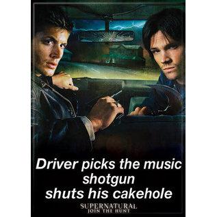 Ata-Boy Aimant - Supernatural - Shotgun Shuts His Cakehole