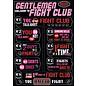 Ata-Boy Aimant - Fight Club - Liste des Règlements
