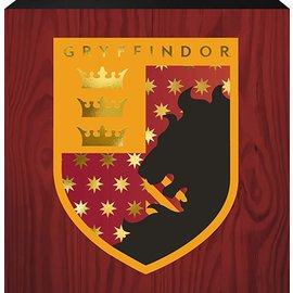 Spoontiques Frame - Harry Potter - Gryffindor Crest Box Sign with Golden Accents