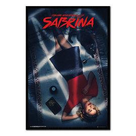 Ata-Boy Magnet - Chilling Adventures of Sabrina- Sabrina Allongée Lounging with Salem