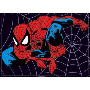 Ata-Boy Aimant - Marvel Spider-Man - En Mouvement sur Fond en Toile