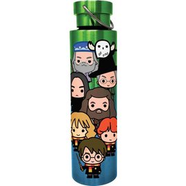 Spoontiques Travel Bottle  - Harry Potter - Chibi  Characters Stainless Steel
