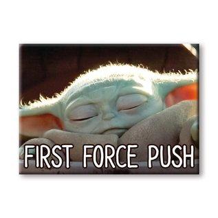 "Ata-Boy Aimant - Star Wars The Mandalorian - The Child ""Bébé Yoda"" Grogu First Force Push"