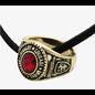 Bioworld Collier - Harry potter - Bague de Graduation Maison Gryffondor