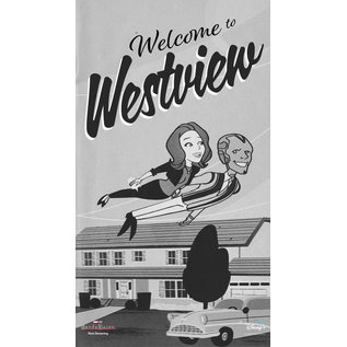 Chez Rhox Aimant - Marvel Wandavision - Welcome to Westview