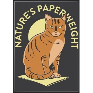 Ata-Boy Aimant - Chat - Nature's Paperweight
