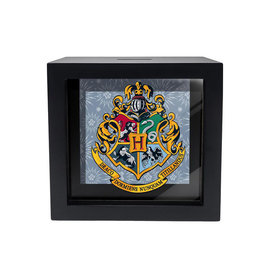 Spoontiques Bank - Harry Potter - Hogwarts Crest Shadow Box