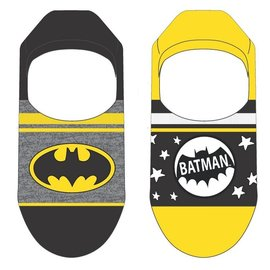 Bioworld Socks - DC Comics Batman - Classic Logo Pack of 2 Pairs of Invisible Liners *Clearance*